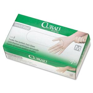 Curad Stretch Non-Sterile Latex-Free Exam Gloves MIICUR9225