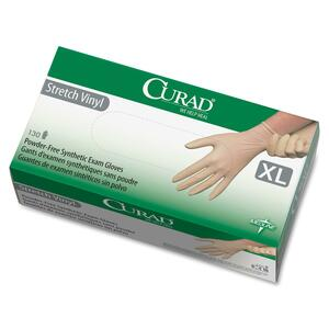 Curad Stretch Non-Sterile Latex-Free Exam Gloves MIICUR9227