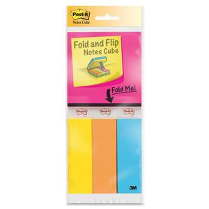 Post-it Fold & Flip Notes Cube MMM2055FC2