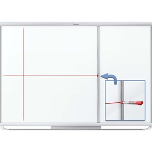 Quartet Prestige 2 Whiteboard Grid Assistant QRT85383