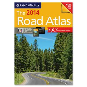 Rand McNally Advantus 2014 Paperback AtlasTravel Printed Book for Transportation RANRM52800767X