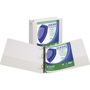 Samsill Clean Touch Value Round Ring View Binder SAM17287