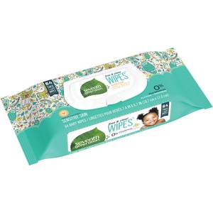 Seventh Generation Hypoallergenic Natural Baby Wipes SEV34208