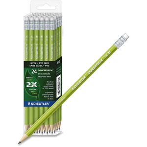 Staedtler WOPEX Wood Pencil STD18241CB24