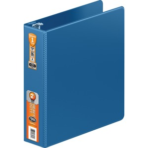 "Wilson Jones Heavy Duty Round Ring Binder with Extra Durable Hinge, 2"" WLJ364447462"