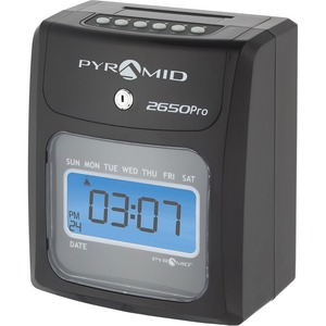 Pyramid 2650 6-Column Time Clock PTI2650