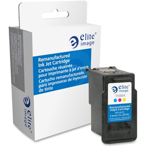 Elite Image Ink Cartridge - Remanufactured for Canon (CL241XL) - Cyan, Magenta, Yellow ELI75884