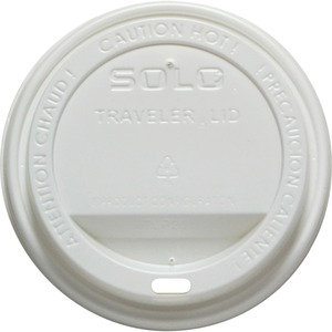 Solo Traveler Hot Cup Dome Drink Lid SLO160007