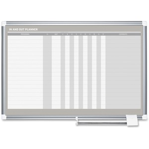 MasterVision In/Out Dry-erase Row Planner BVCGA01110830