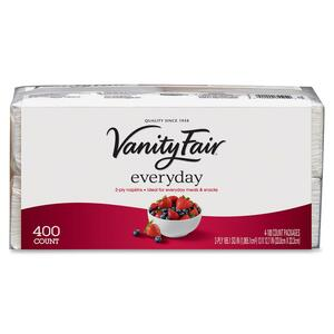 Vanity Fair Everyday 2-Ply Paper Napkins GEP3513615CT