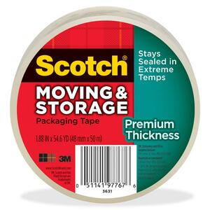 Scotch 3.1mil Moving Storage Tape MMM3631