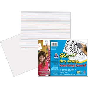 GoWrite! Dry Erase Learning Boards PACLB8512