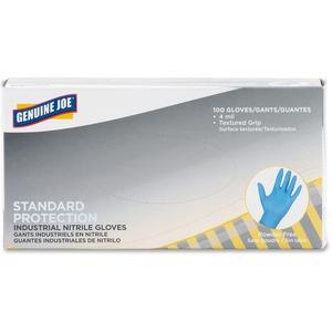 Genuine Joe Standard Industrial Nitrile Gloves