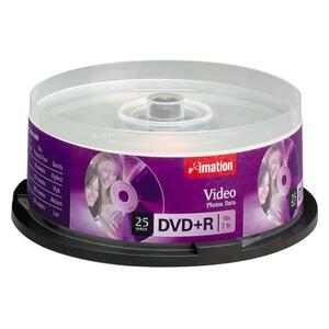 Imation DVD Recordable Media - DVD+R - 4.70 GB - 25 Pack Spindle IMN17194
