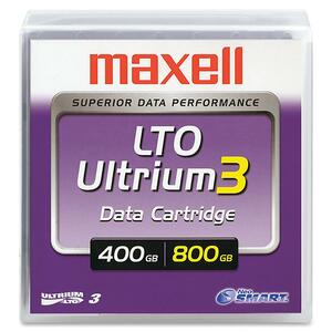 Maxell LTO Ultrium 3 Tape Cartridge MAX183900