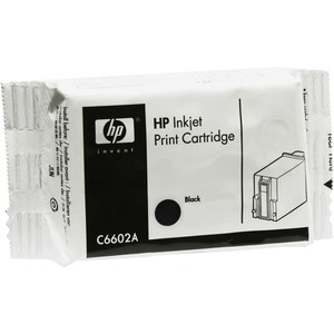 HP Ink Cartridge - Black HEWC6602A