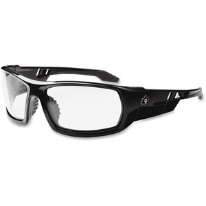 Ergodyne Skullerz® Glasses - Odin - Clear Lens with Fog-Off - Black Full Frame