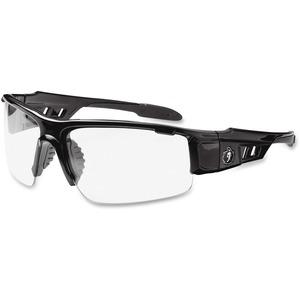 Ergodyne Skullerz® Glasses - Dagr - Clear Lens - Black Half Frame