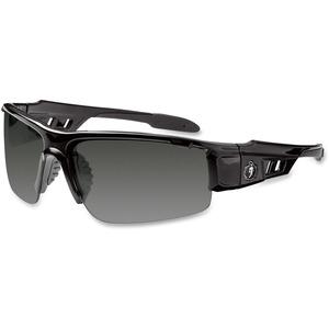 Ergodyne Skullerz® Glasses - Dagr - Smoke Lens - Black Half Frame