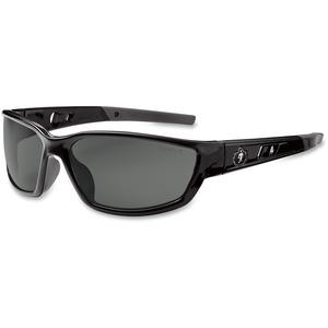 Ergodyne Skullerz® Glasses - Kvasir - Smoke Lens - Black Full Frame
