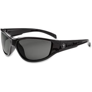 Ergodyne Skullerz® Glasses - Njord - Smoke Lens -Black Medium Frame