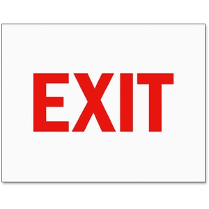 Tarifold Magneto Safety Sign Inserts-Exit
