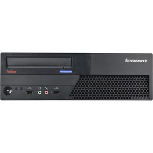 Lenovo - Ingram Certified Pre-Owned ThinkCentre M58 Desktop Computer - Intel Pentium Dual-core 3 GHz - 2 GB - 250 GB HDD - Windows 7 Professional - Small Form Factor - Refurbished