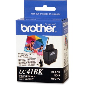 Brother LC41BK Ink Cartridge - Black BRTLC41BK