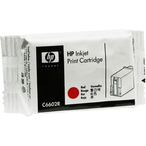 HP Ink Cartridge - Red HEWC6602R