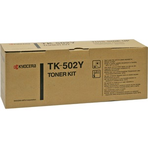 Kyocera Toner Cartridge - Yellow KYOTK502Y