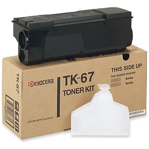 Kyocera Black Toner Cartridge KYOTK67