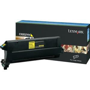 Lexmark Yellow Toner Cartridge LEXC9202YH