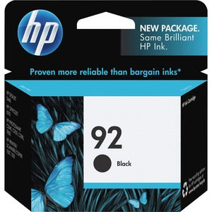 HP 92 Ink Cartridge - Black HEWC9362WN