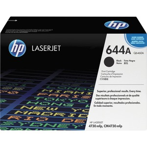 HP 644A (Q6460A) Black Original LaserJet Toner Cartridge HEWQ6460A