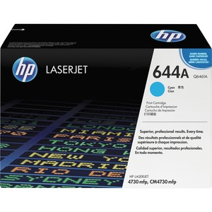 HP 644A Toner Cartridge - Cyan HEWQ6461A