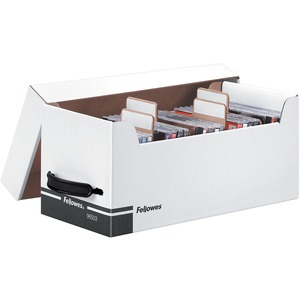 Bankers Box Corrugated CD/Disk Storage - TAA Compliant FEL96503