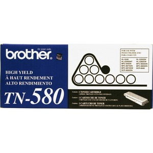 Brother TN580 Toner Cartridge - Black BRTTN580
