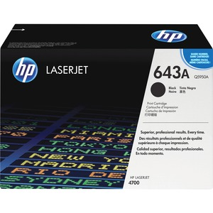 HP 643A Black Original LaserJet Toner Cartridge HEWQ5950A