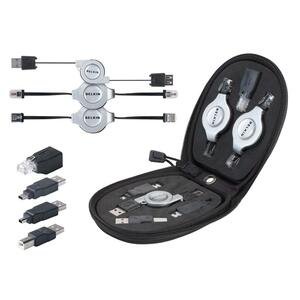 Belkin 7-in-1 Retractable Cable Travel Pack BLKF3X1724