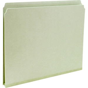 Smead 13200 Gray/Green Pressboard File Folders SMD13200