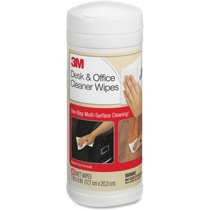 3M Desk & Office Cleaner Wipes MMMCL563