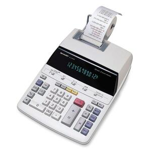 Sharp EL219R11 Printing Calculator SHREL2192RII
