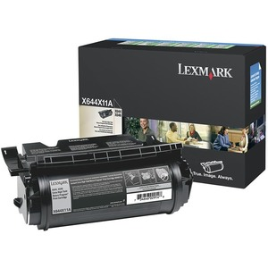 Lexmark Black Extra High Yield Return Program Toner Cartridge LEXX644X11A