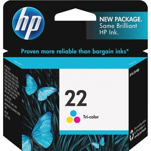 HP 22 Tri-color Original Ink Cartridge HEWC9352AN