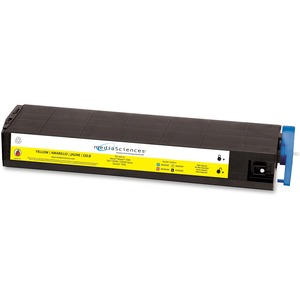 Media Sciences MS9000Y (41963601) Okidata Compatible C9300 High Capacity Toner Cartridge MDAMS9000Y