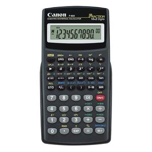 Canon F604 Scientific Statistical Calculator CNMF604