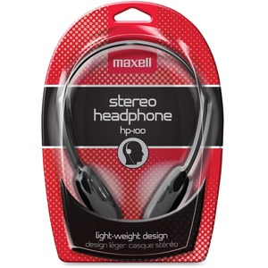 Maxell HP-100 Lightweight Stereo Headphone MAX190319