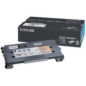 Lexmark Black Toner Cartridge LEXC500S2KG