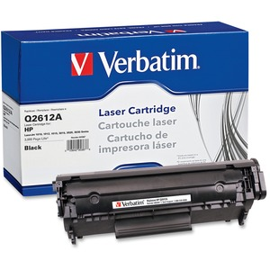 Verbatim 95387 Toner Cartridge - Replacement for HP - Black VER95387