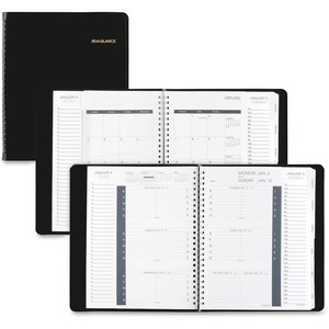 At-A-Glance Weekly and Monthly Triple View Appointment Book AAG70100V05